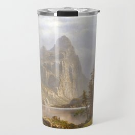 Albert Bierstadt Merced River, Yosemite Valley Travel Mug