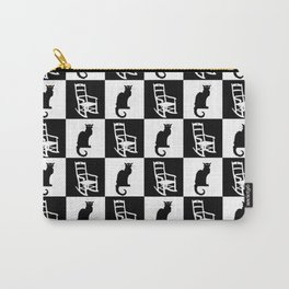 Cats and Rocking Chairs Pattern Carry-All Pouch