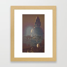 Kwan Yin at Sunset Framed Art Print