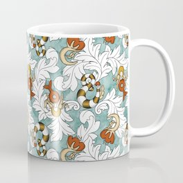 You and Me_Words in flowers Coffee Mug