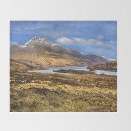 Highland Loch Throw Blanket
