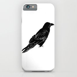 The Raven by Seasons Kaz Sparks iPhone Case