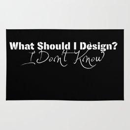 What Should I Design? Rug