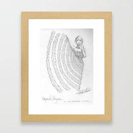 In Ruffles Framed Art Print