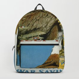 Vintage poster - Keep Him Free Backpack