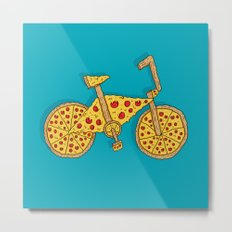 Pizzacycle Metal Print