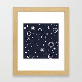 Candied Night Sky Framed Art Print