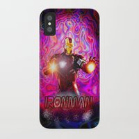 ironman iPhone & iPod Cases featuring Ironman by JT Digital Art