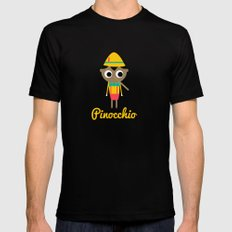 Pinocchio MEDIUM Mens Fitted Tee Black