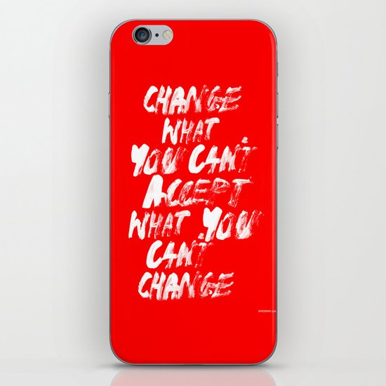 Accept / Change iPhone & iPod Skin