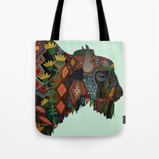 bison mint Tote Bag