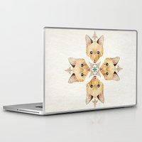 kitten Laptop & iPad Skins featuring kitten by Manoou