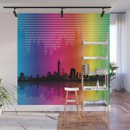 Urban Rhythm Wall Mural