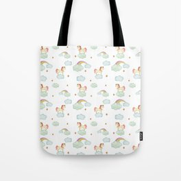 Unicorn pattern Tote Bag