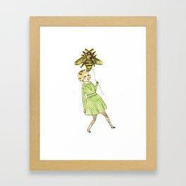 Beeballoon Framed Art Print