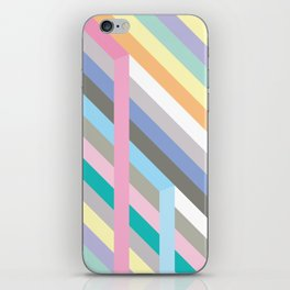 Pastel colors iPhone Skin