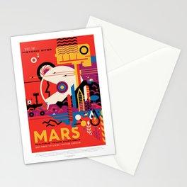 Retro Mars Vacation Ad from NASA Stationery Cards