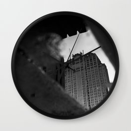 Chicago Puddle Wall Clock