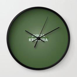 Avada The Negativity Wall Clock