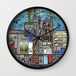 My Submarine Wall Clock