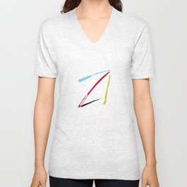 serge-pichii-abstract-00007 Unisex V-Neck