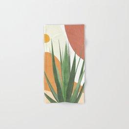 Abstract Agave Plant Hand & Bath Towel