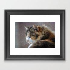 Cassie's Portrait Framed Art Print