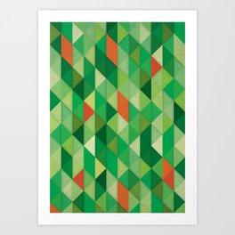 ▲△▲ Art Print