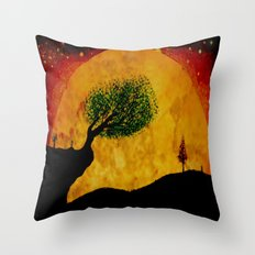 MOONSCAPE - 238 Throw Pillow
