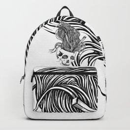 Noodles Skull Backpack