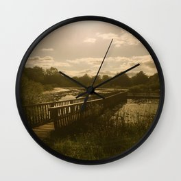 Quiet Day Out Wall Clock