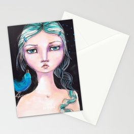 Blue Bird by Jane Davenport Stationery Cards