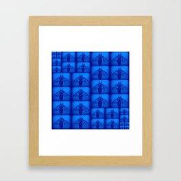 Blue Collar Workers Framed Art Print