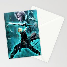 Cloud Strife Stationery Cards