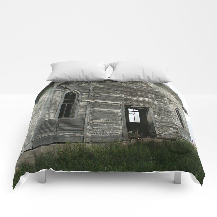 Abandoned Church Comforters