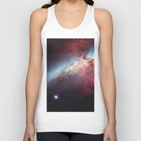 galaxy Tank Tops featuring Galaxy by fly fly away