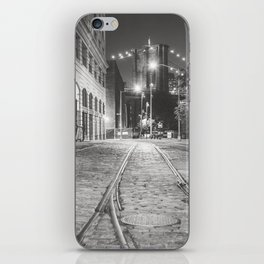 New York City Nights in Dumbo iPhone Skin