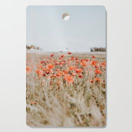 flower field Cutting Board
