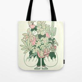 Plants Club (girl) Tote Bag