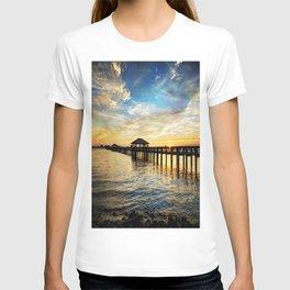 Biloxi Bay Sunset T-shirt