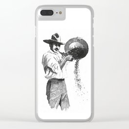 Gold digger Clear iPhone Case
