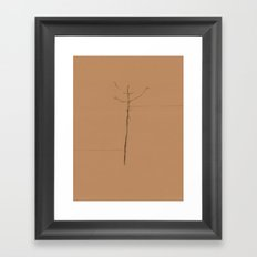 Linear Nature 4 Framed Art Print
