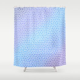 Incident of Time Shower Curtain
