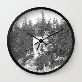 Lighthouse photography landscape Wall Clock