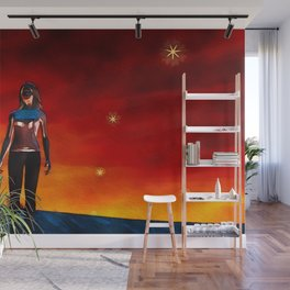 Lucy in the Sky Wall Mural