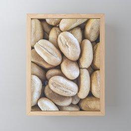 Coarse bread Framed Mini Art Print