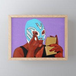 Eye Shadow Framed Mini Art Print