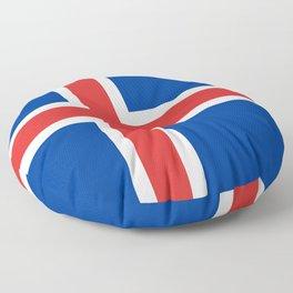 Flag: Iceland Floor Pillow