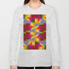 Geometric Lux QR Long Sleeve T-shirt