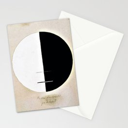 12,000pixel-500dpi - Hilma af Klint - Buddha's Standpoint in the Earthly Life, No. 3a, Series XI Stationery Cards
